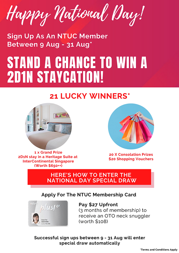 Stand a chance to win a 2d1n staycation!