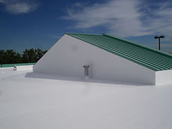 Commerical Roofing, White Membrane