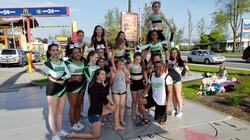 Academy Athletes at McHappy Days