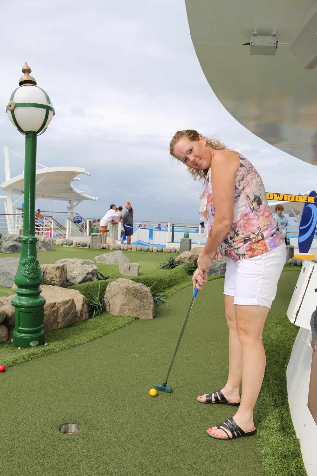 Mini Golf? On a Ship??