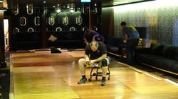 Dance Floor Install
