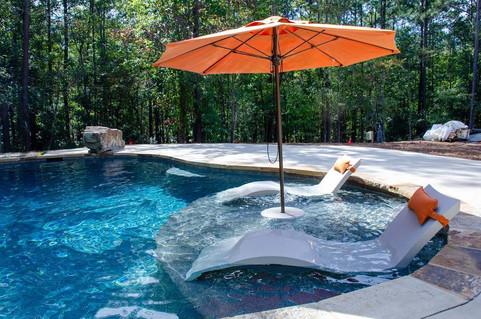 Pool Build Ledge Lounge