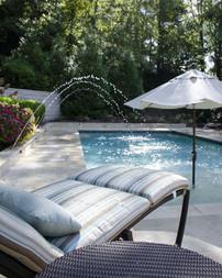 Pool Build Deck Jets, Umbrella