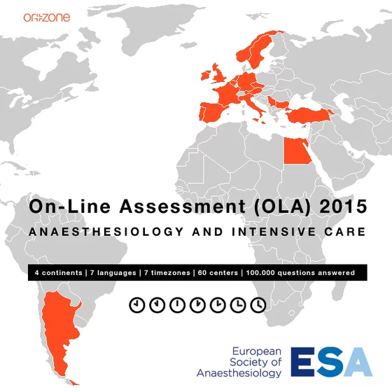 Orzone breaks new frontiers in conjuction with the European Society of Anaesthesiology and delivers