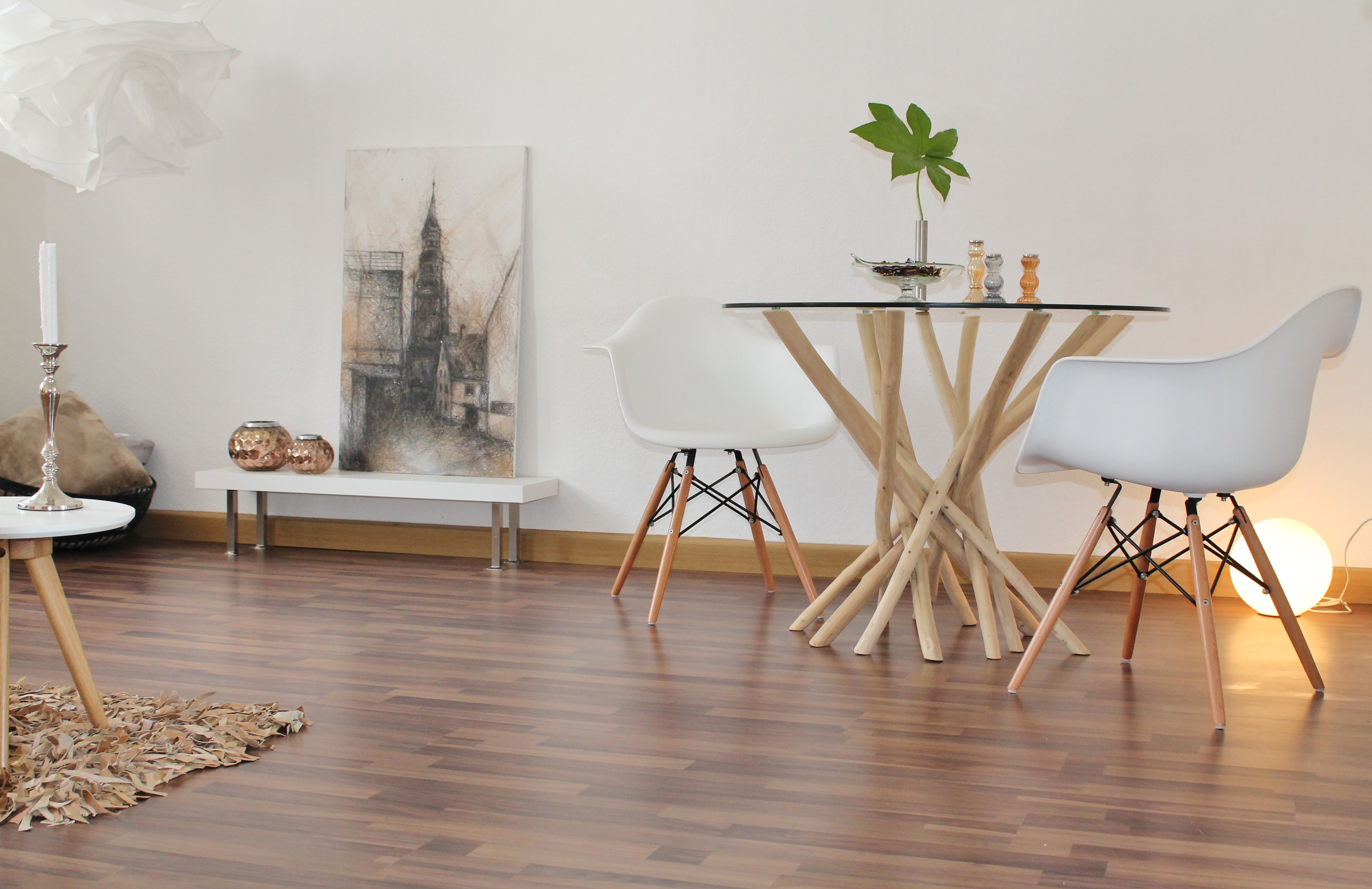 Wohnzimmer Essbereich nachher
