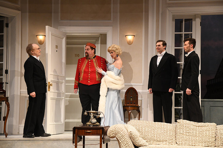The cast of A Comedy of Tenors