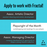"""Apply to Work with Fractal"" Graphic"