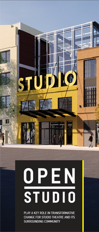 Open Studio Tri-fold Brochure