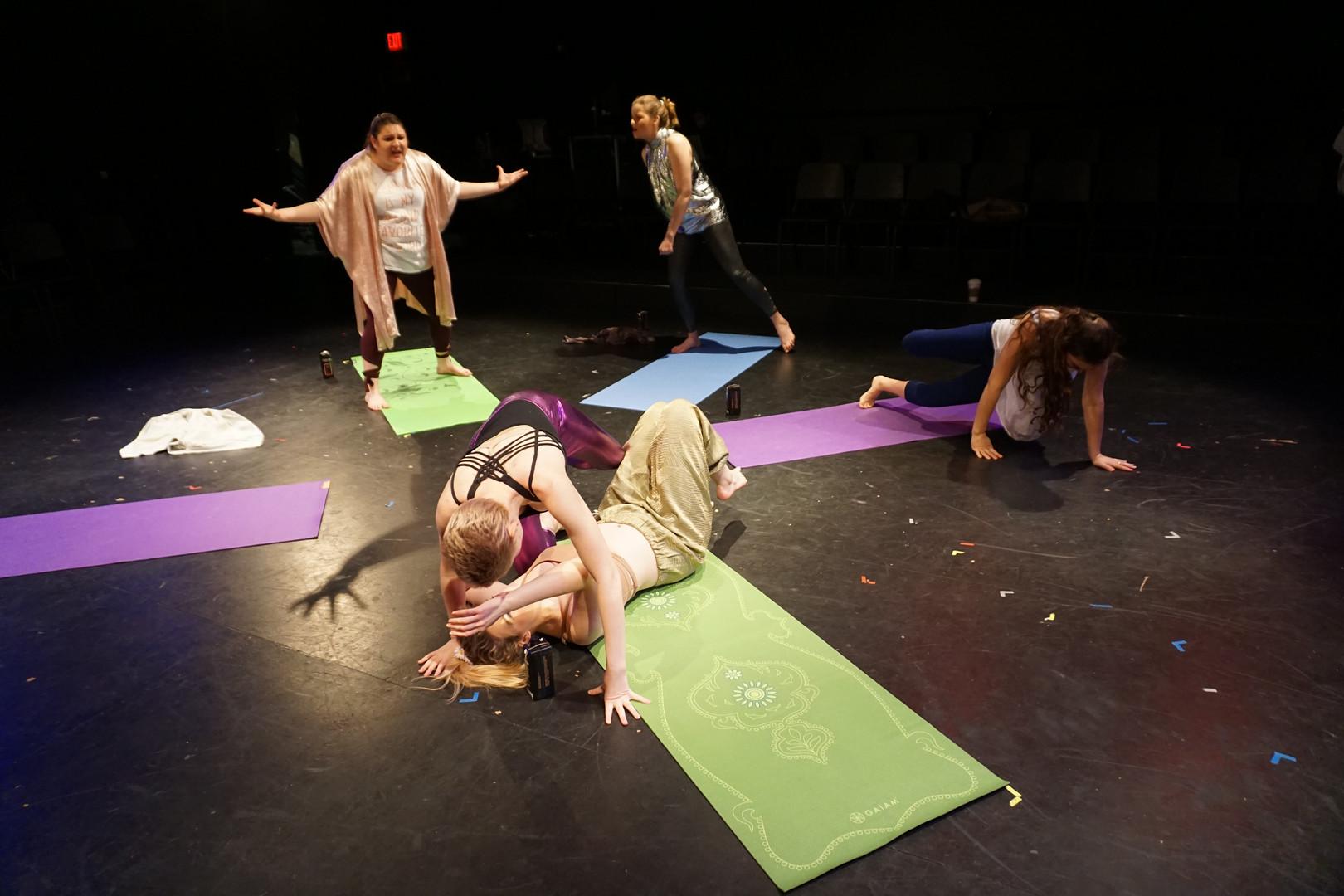 Megan Ann Robbins and the Goddesses ensemble
