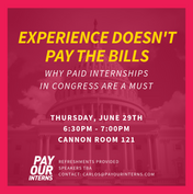 """""""Experience Doesn't Pay the Bills"""" Post"""