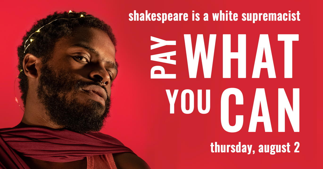 Pay What You Can Performance Facebook Event Cover Photo