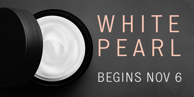 White Pearl Show Reminder Email Banner
