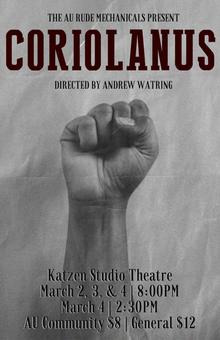 Coriolanus Show Program