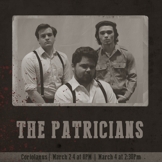 """""""The Patricians"""" Character Graphic"""