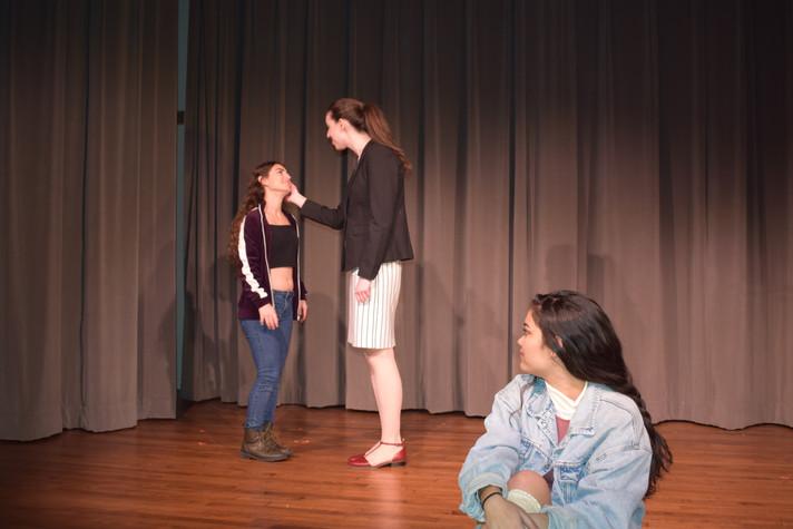Laertes, Polonius, Ophelia
