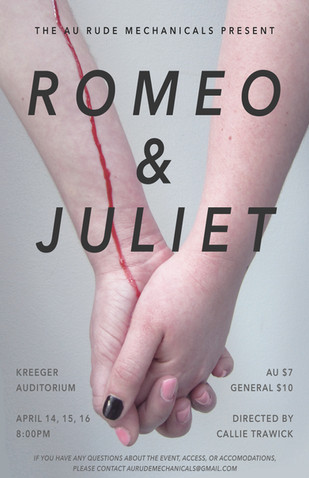 Romeo & Juliet Show Poster