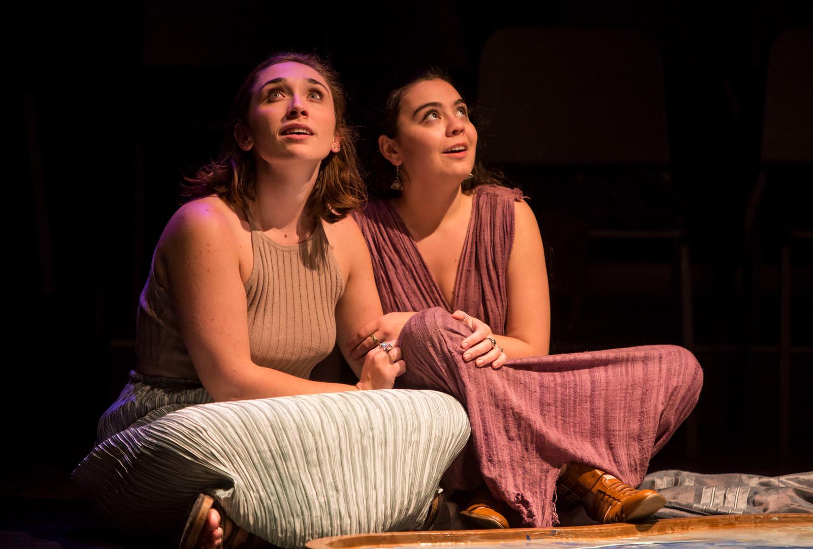 Emily Krusche Bruck and Lauren Farnell