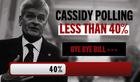 Better Road Lousiana PAC Email Banner - Bill Cassidy