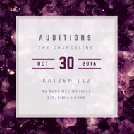 The Changeling Audition Graphic