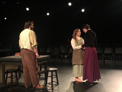 John Proctor, Elizabeth, and Hale
