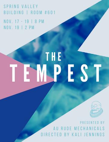 Tempest Show Program
