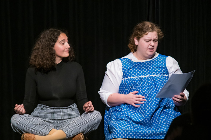 Maggie Rocha and Emma Dorsch in Shared S