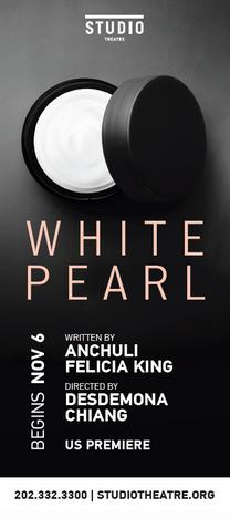 White Pearl Rack Card