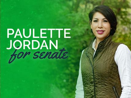 Paulette Jordan Endorsement Graphic - Ex
