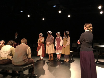 The girls of The Crucible