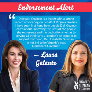 Elizabeth Guzman Campaign Endorsement Graphic