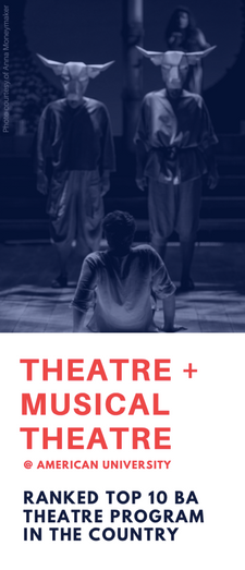 Department of Performing Arts Program Brochure