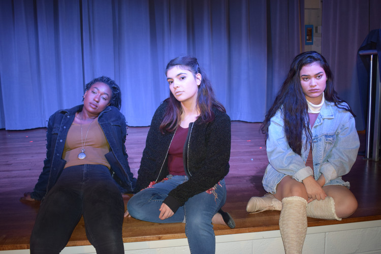 Hamlet, Horatio, and Ophelia