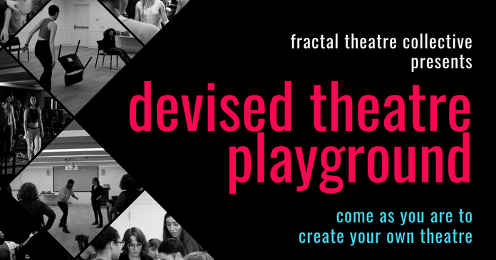 Devised Theatre Playground Facebook Cover Photo