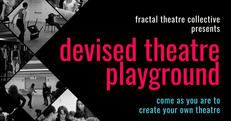 Devised Theatre Playground Facebook Cover Photo