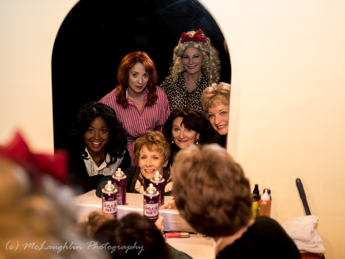 The cast of Steel Magnolias