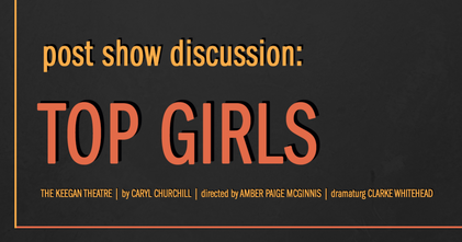 Top Girls Post Show Discussion Event Photo