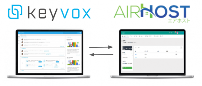 KEYVOXとエアホスト社が提供するAirHost PMSとのAPI連携を発表