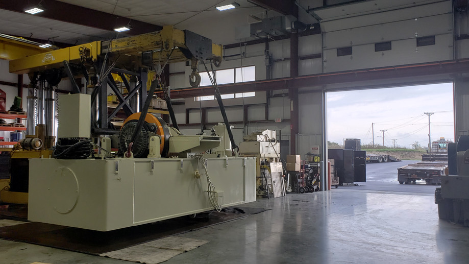 machinery moving services