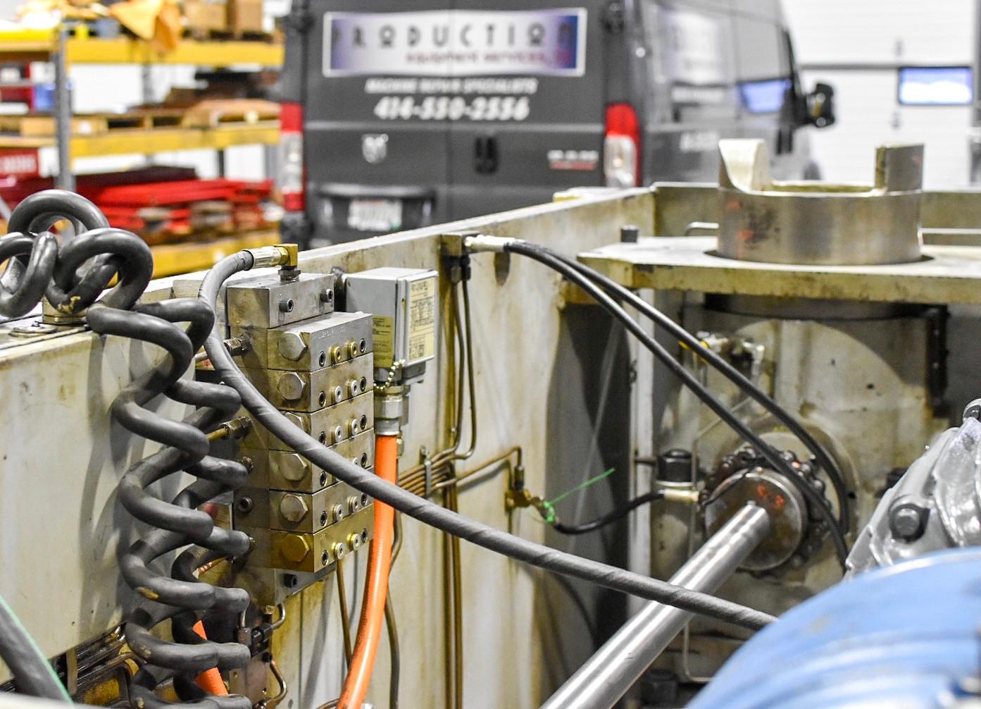 punch press lube repair