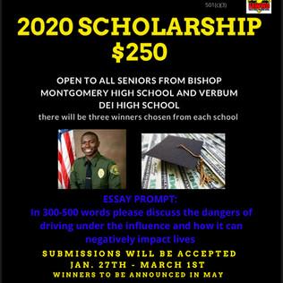 2020 Scholarship Awards