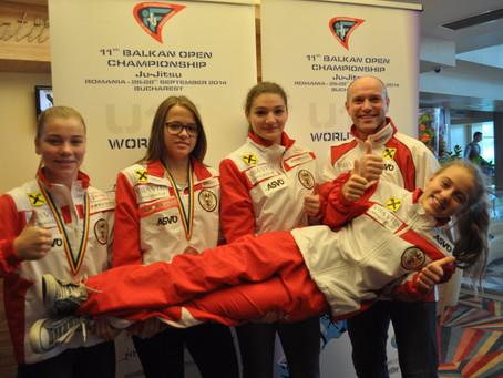 U15 Jiu Jitsu World Cup und Balkan Open Champonship
