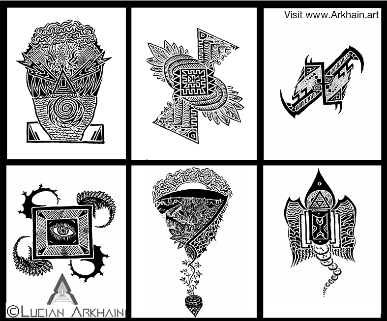 The drawings that started it all