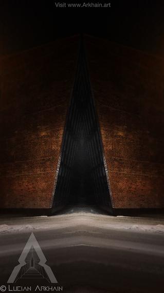 Brick Triangle Portal