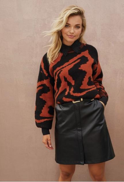 skirt rox black