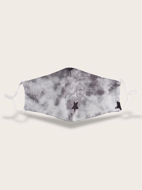 Fashion mask lot6-zwart met ster