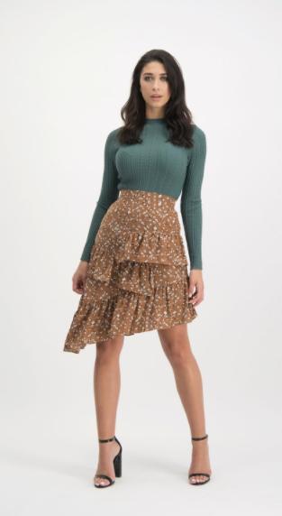 LM skirt neve brown