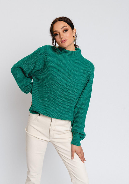 R&C knit Melina green