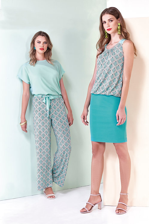 Batida shirt 8989 mint,wit,lime(links foto)