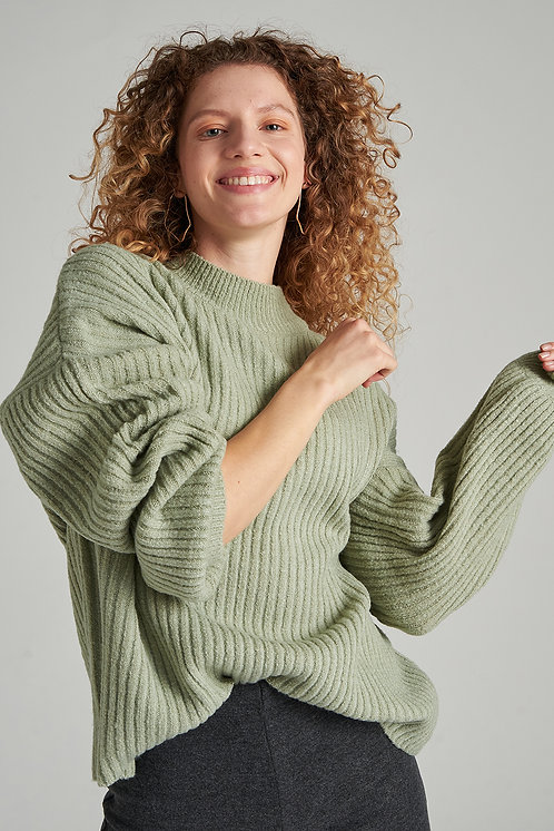 24colours pullover groen