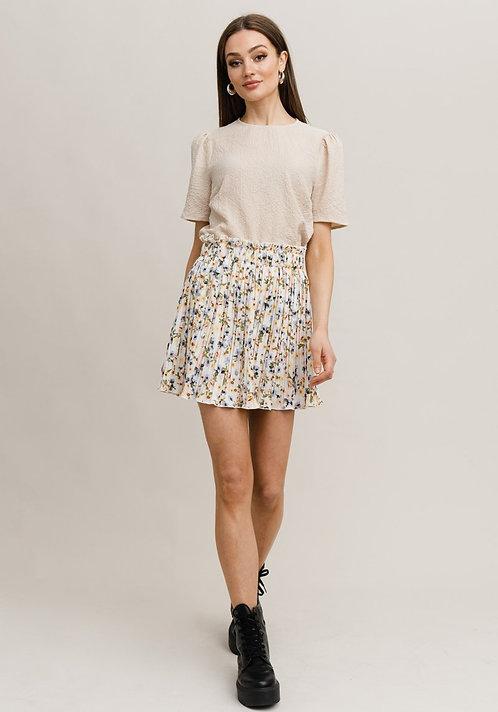 R&C Nora pleat skirt